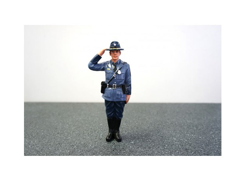 State Trooper Brian Figure For 1:24 Diecast Model Cars by American Diorama - BeTovi&co