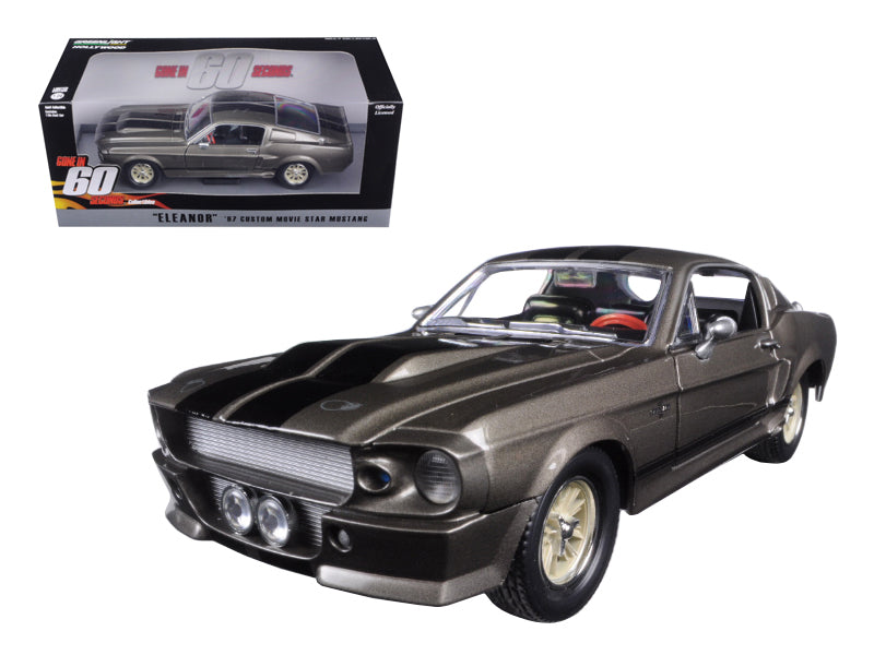 "1967 Ford Mustang Custom \Eleanor"" Gone in 60 Seconds Movie (2000) 1/24 Diecast Model Car by Greenlight"" - BeTovi&co"