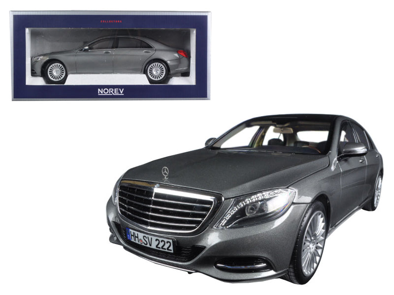 2013 Mercedes S Class Iridium Silver 1/18 Diecast Model Car by Norev - BeTovi&co