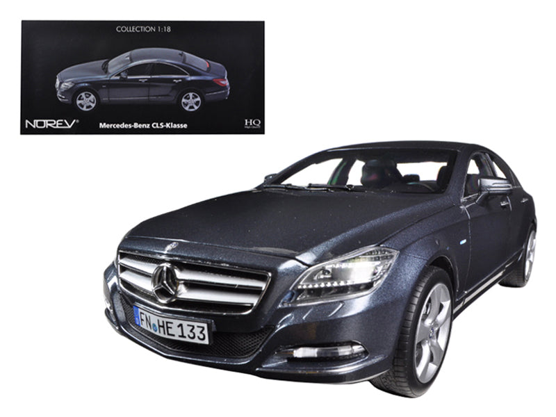 2010 Mercedes CLS 350 Tenorit Grey 1/18 Diecast Car Model by Norev - BeTovi&co