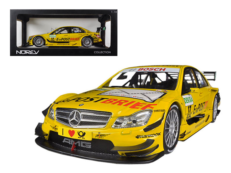 Mercedes C Class DTM 2011 #17 David Coulthard 1/18 Diecast Car Model by Norev - BeTovi&co