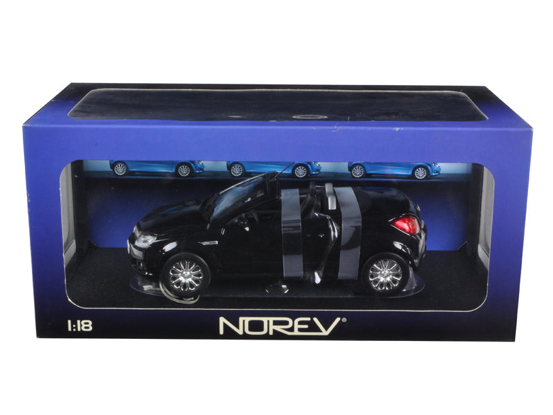 Opel Tigra Convertible Black 1/18 Diecast Car Model by Norev - BeTovi&co