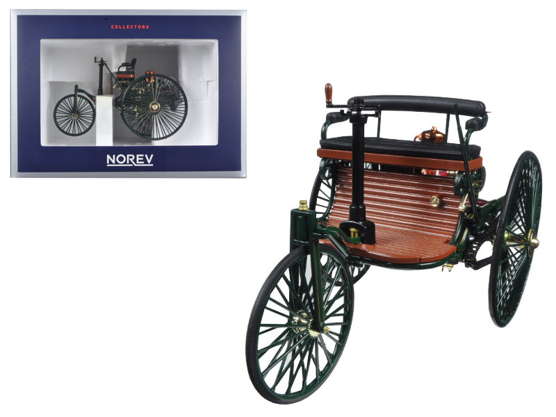 1886 Benz Patent Motorwagen 1/18 Diecast Car Model by Norev - BeTovi&co