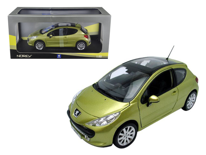 Peugeot 207 Gold 1/18 Diecast Model Car by Norev - BeTovi&co