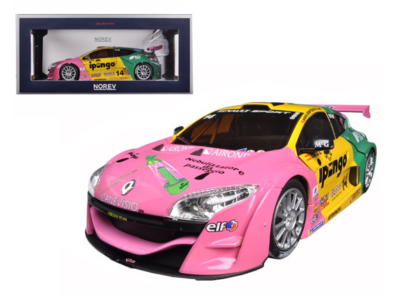 2012 Renault Megane #14 Throphy Winner Team Oregon-Costa 1/18 Diecast Model Car by Norev - BeTovi&co