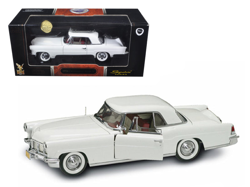 1956 Lincoln Continental Mark II White 1/18 Diecast Model Car by Road Signature - BeTovi&co