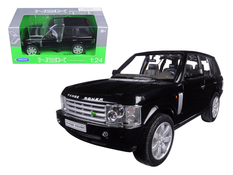 2003 Land Rover Range Rover Black 1/24 Diecast Model Car by Welly - BeTovi&co