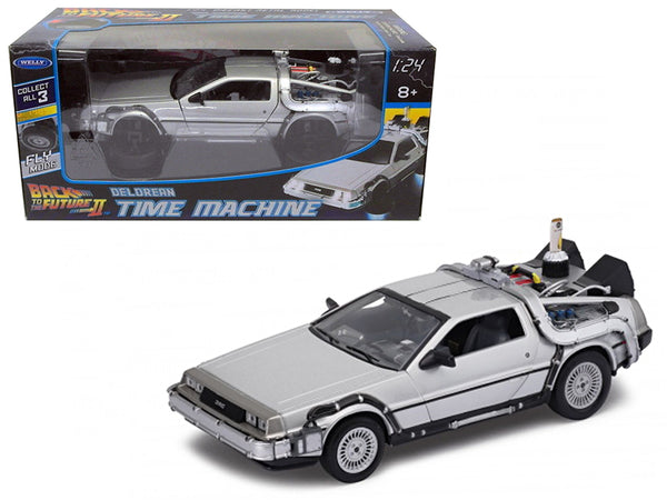 Delorean from movie 'Back To The Future 2' Flying Version 1/24