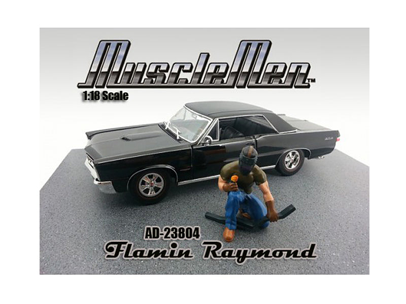 Musclemen Flamin Raymond Figure for 1:18 Scale Diecast Car Models by American Diorama - BeTovi&co