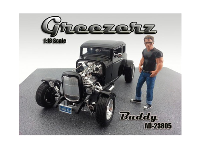 Greezerz Buddy Figure For 1:18 Diecast Model Cars by American Diorama - BeTovi&co