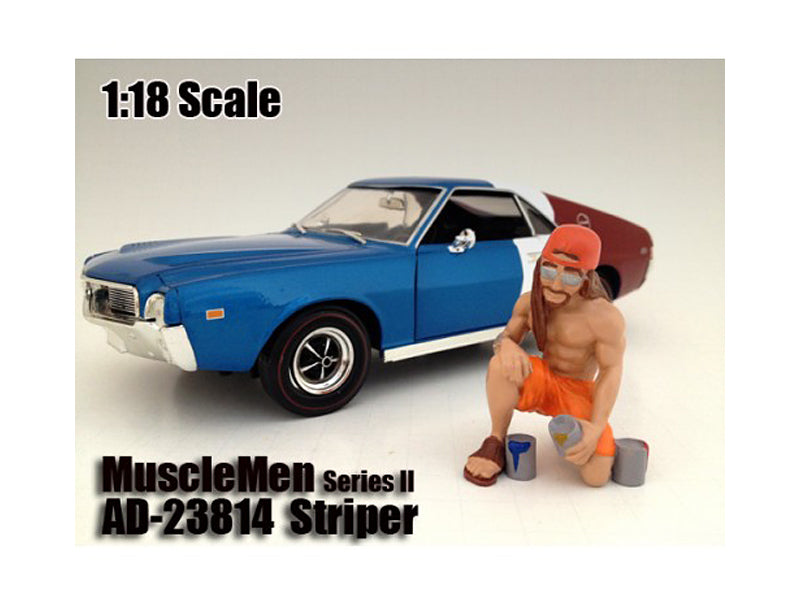 "Musclemen \Striper"" Figure For 1:18 Scale Models by American Diorama"" - BeTovi&co"