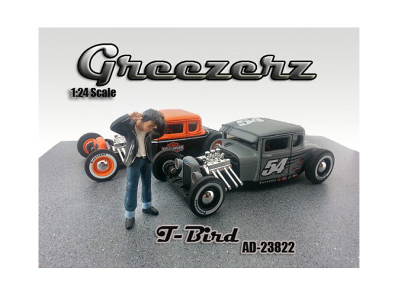Greezerz T-Bird Figure For 1:24 Diecast Model Cars by American Diorama - BeTovi&co