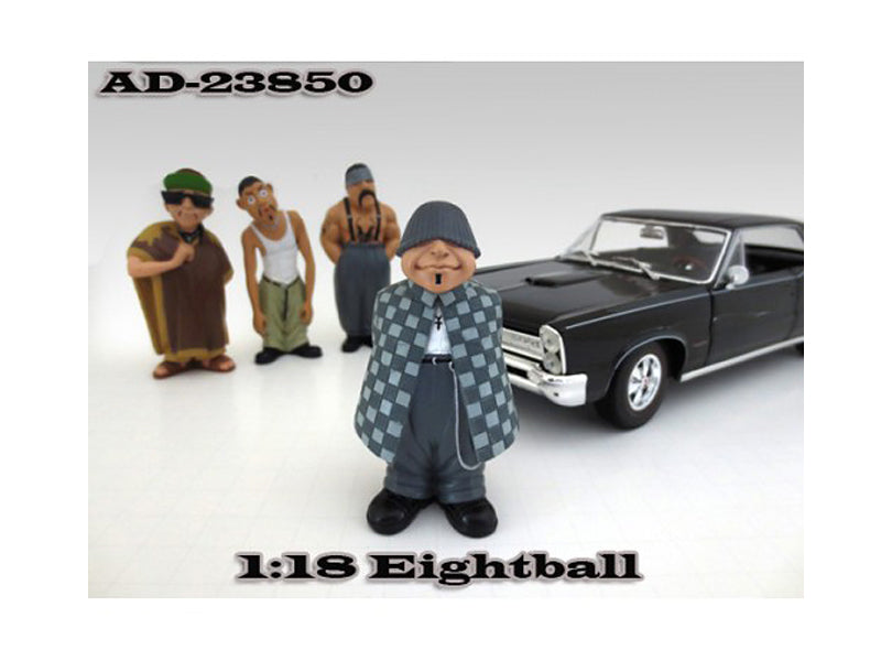 "Eightball \Homies"" Figure For 1:18 Diecast Model Cars by American Diorama"" - BeTovi&co"