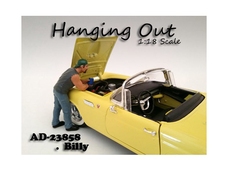"\Hanging Out"" Billy Figure For 1:18 Scale Models by American Diorama"" - BeTovi&co"