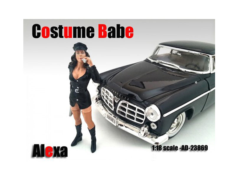 Costume Babe Alexa Figure For 1:18 Scale Models by American Diorama - BeTovi&co