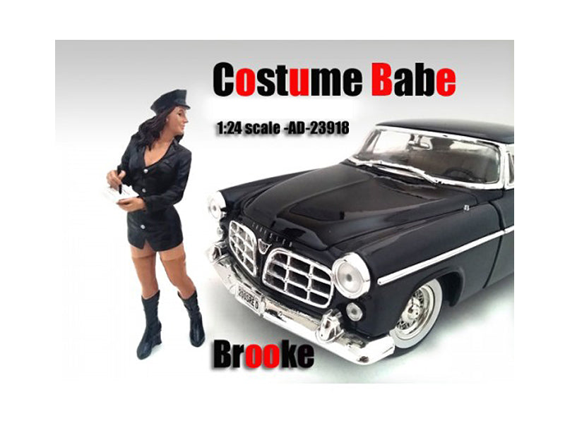 Costume Babe Brooke Figure For 1:24 Scale Models by American Diorama - BeTovi&co