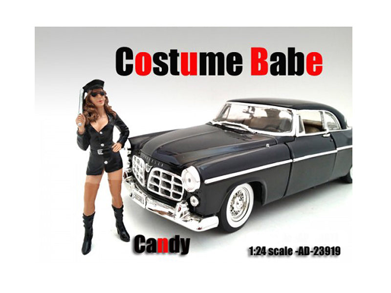 Costume Babe Candy Figure For 1:24 Scale Models by American Diorama - BeTovi&co
