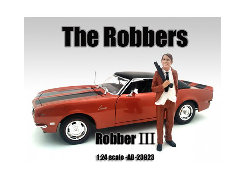 "\The Robbers"" Robber III Figure For 1:24 Scale Models by American Diorama"" - BeTovi&co"