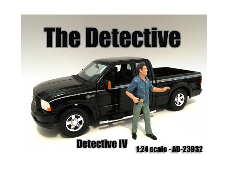 "\The Detective #4"" Figure For 1:24 Scale Models by American Diorama"" - BeTovi&co"