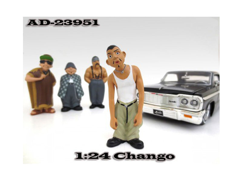 "Chango \Homies"" Figure For 1:24 Scale Diecast Model Cars by American Diorama"" - BeTovi&co"