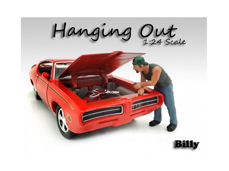 "\Hanging Out"" Billy Figure For 1:24 Scale Models by American Diorama"" - BeTovi&co"