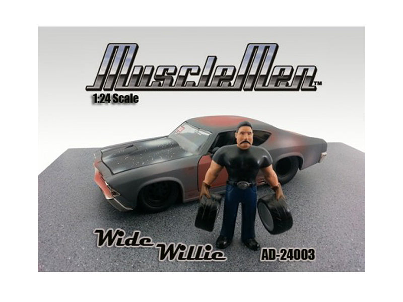 Musclemen Wide Willie Figure For 1:24 Diecast Model Cars by American Diorama - BeTovi&co