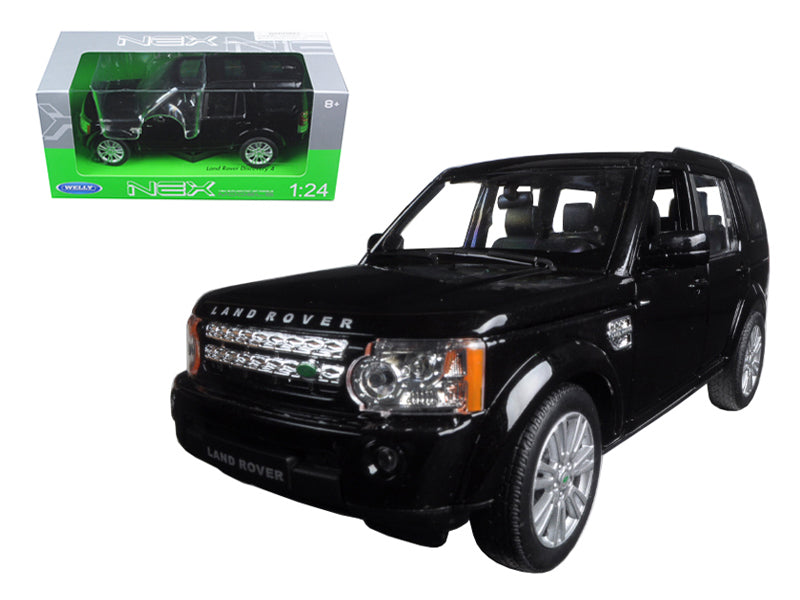 Land Rover Discovery 4 Black 1/24 Diecast Model Car by Welly - BeTovi&co