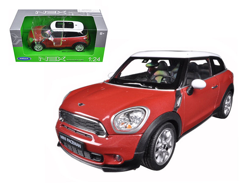 Mini Cooper S Paceman Red 1/24 Diecast Model Car by Welly - BeTovi&co
