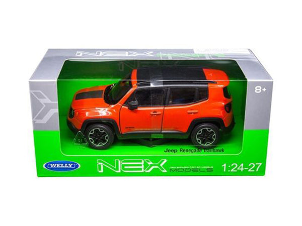 Jeep Renegade Trailhawk Orange 1/24 - 1/27