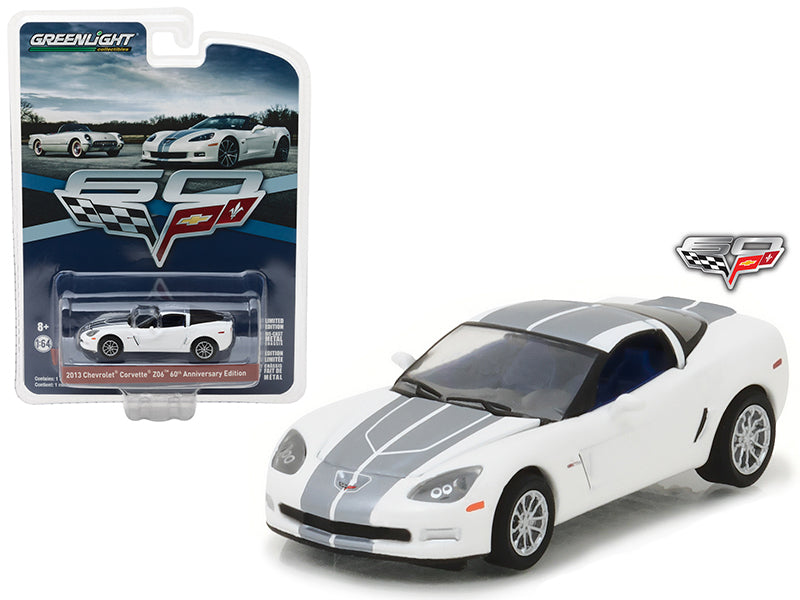 2013 Chevrolet Corvette Z06 60th Anniversary Edition Anniversary Collection Series 5 1/64 Diecast Model Car by Greenlight - BeTovi&co