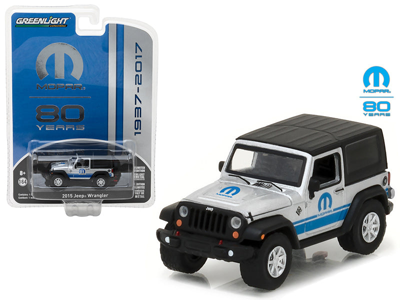 2015 Jeep Wrangler MOPAR 80 Years Anniversary Collection Series 5 1/64 Diecast Model Car by Greenlight - BeTovi&co