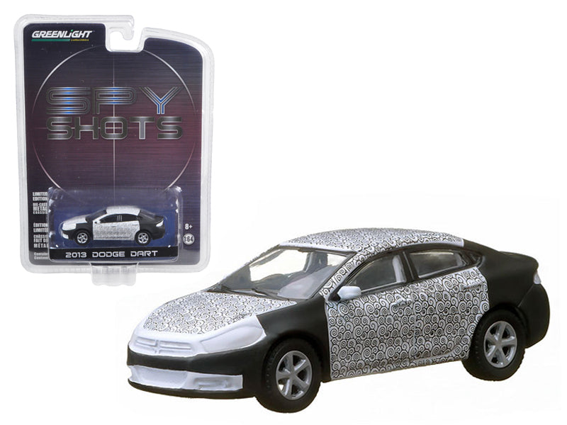 "2013 Dodge Dart \Spy Shot"" Hobby Exclusive in Blister Pack 1/64 Diecast Car Model by Greenlight"" - BeTovi&co"