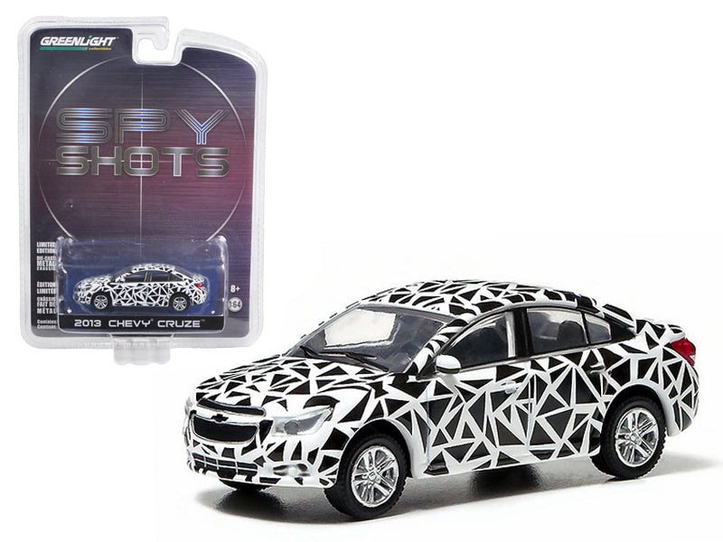 "2013 Chevrolet Cruze \Spy Shot"" Hobby Exclusive in Blister Pack 1/64 Diecast Car Model by Greenlight"" - BeTovi&co"