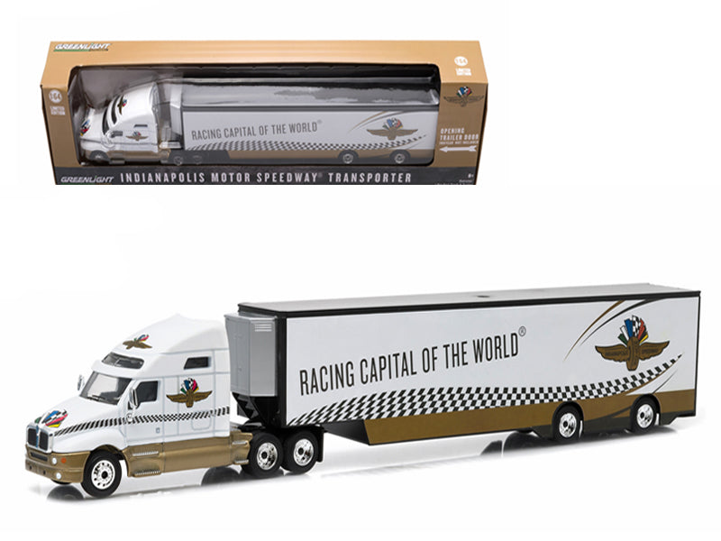 2015 Kenworth T2000 Transporter Indianapolis Motor Speedway 1/64 Diecast Model by Greenlight - BeTovi&co