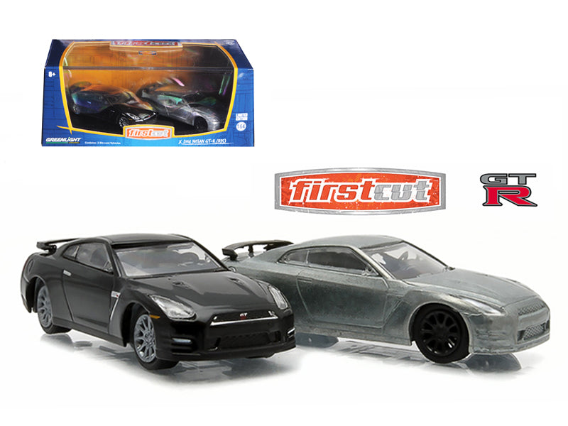 First Cut 2007-14 Nissan Skyline GT-R (R35) Hobby Only Exclusive 2 Cars Set 1/64 Diecast Model Cars by Greenlight - BeTovi&co