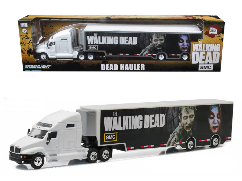 Kenworth T2000 Hauler 'The Walking Dead' TV Series (2010-Current) 1/64 Diecast Model Car  by Greenlight - BeTovi&co