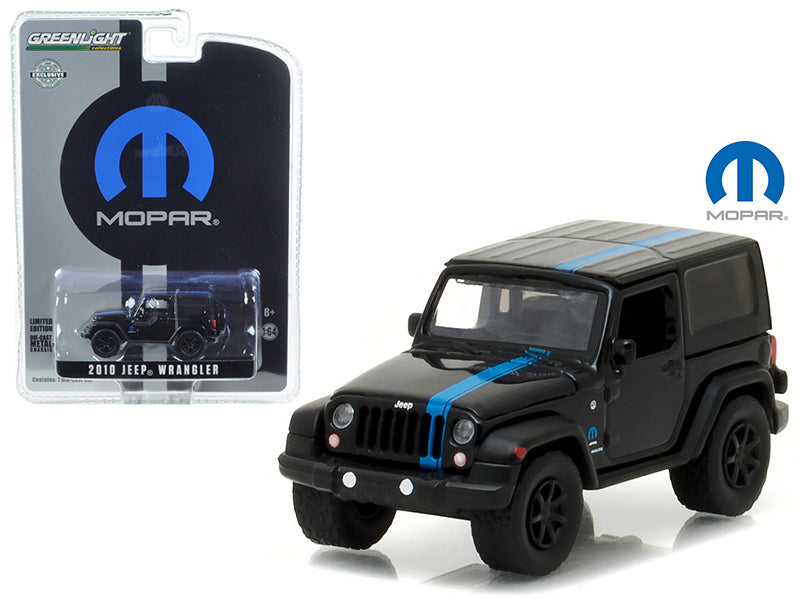 2010 Jeep Wrangler MOPAR Edition Hobby Exclusive 1/64 Diecast Model Car by Greenlight - BeTovi&co