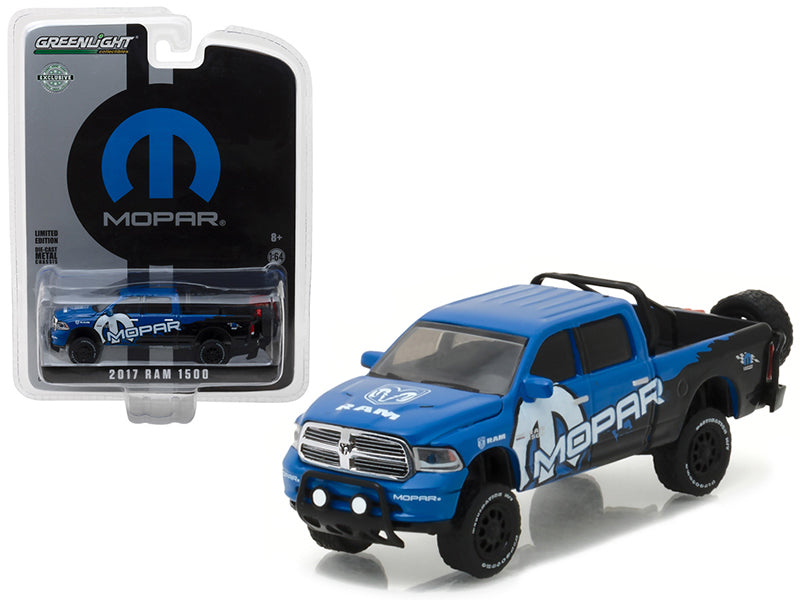 2017 Dodge Ram 1500 Pickup Truck MOPAR Off-Road Edition Hobby Exclusive 1/64 Diecast Model Car by Greenlight - BeTovi&co