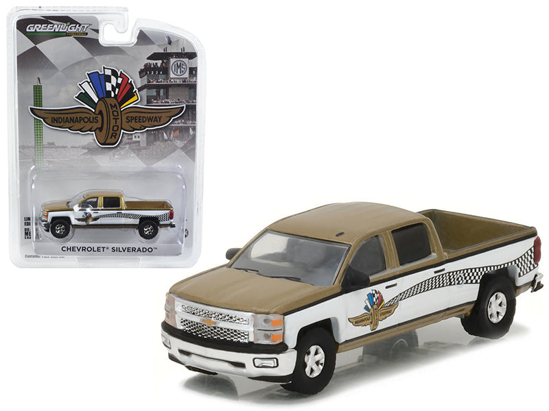 2015 Chevrolet Silverado Indianapolis Motor Speedway (IMS) Pickup Truck Hobby Exclusive 1/64 Diecast Model Car by Greenlight - BeTovi&co