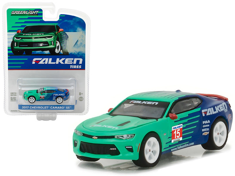 2017 Chevrolet Camaro SS Falken Tire Hobby Exclusive 1/64 Diecast Model Car by Greenlight - BeTovi&co