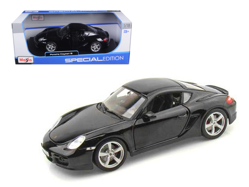 Porsche Cayman S Black 1/18 Diecast Model Car by Maisto - BeTovi&co