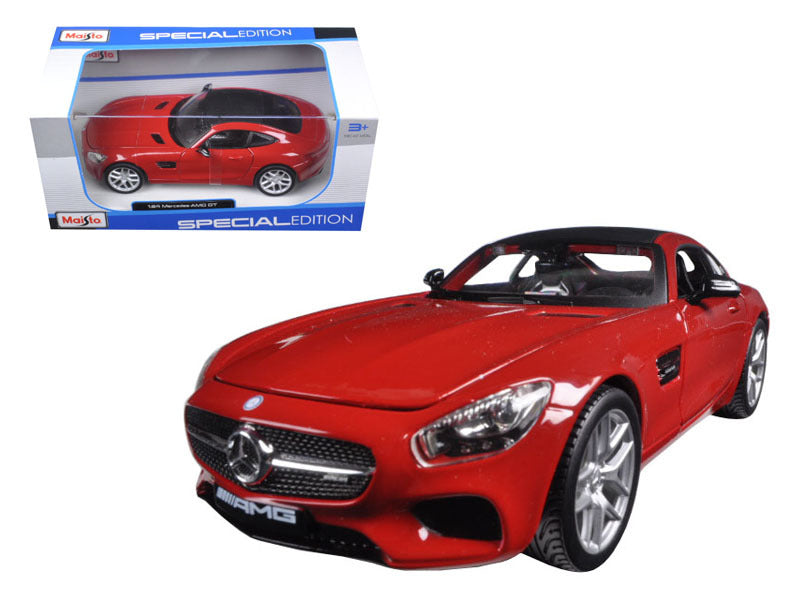 Mercedes AMG GT Red 1/24 Diecast Model Car by Maisto - BeTovi&co