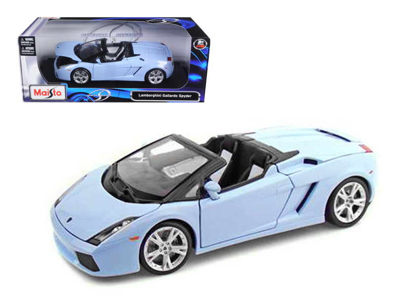 Lamborghini Gallardo Spyder Blue 1/18 Diecast Model Car by Maisto - BeTovi&co