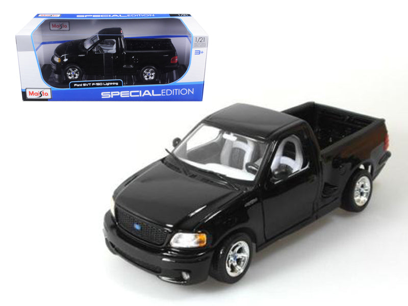 Ford F-150 SVT Lightning Black Pick Up Truck 1/21 Diecast Model by Maisto