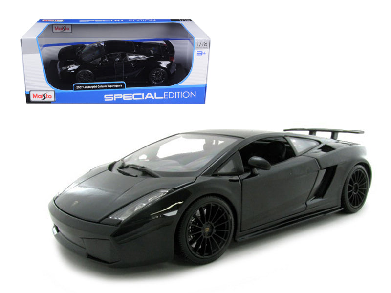 2007 Lamborghini Gallardo Superleggera Black 1/18 Diecast Model Car by Maisto - BeTovi&co