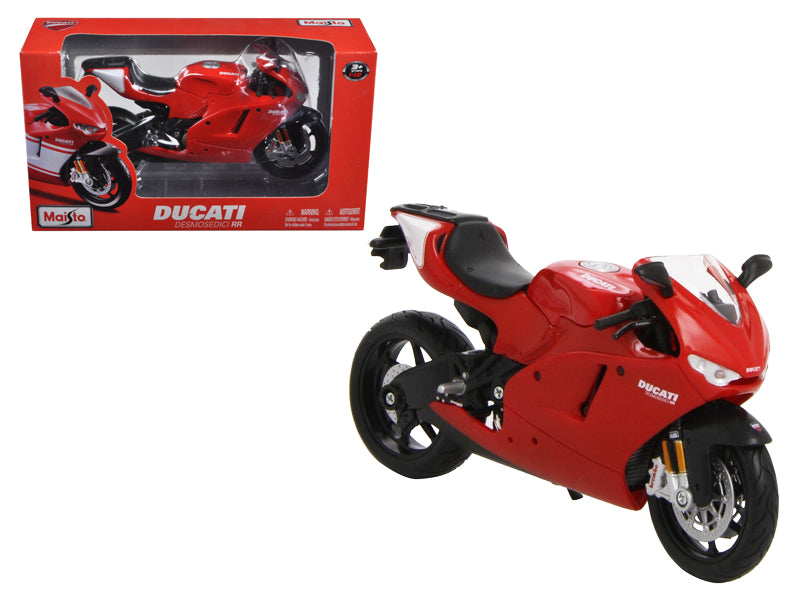 Ducati Desmosedici RR Red Motorcycle Red 1/12 Diecast Model by Maisto - BeTovi&co