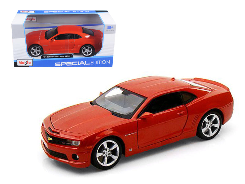 2010 Chevrolet Camaro RS SS Orange 1/24 Diecast Model Car by Maisto - BeTovi&co