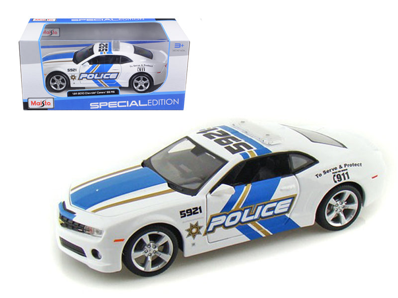 2010 Chevrolet Camaro RS SS Police 1/24 Diecast Model Car by Maisto - BeTovi&co