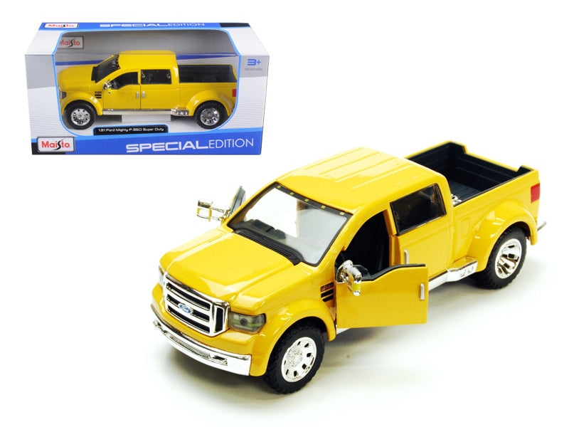 Ford Mighty F-350 Pick Up Truck Yellow 1/31 Diecast Model by Maisto - BeTovi&co