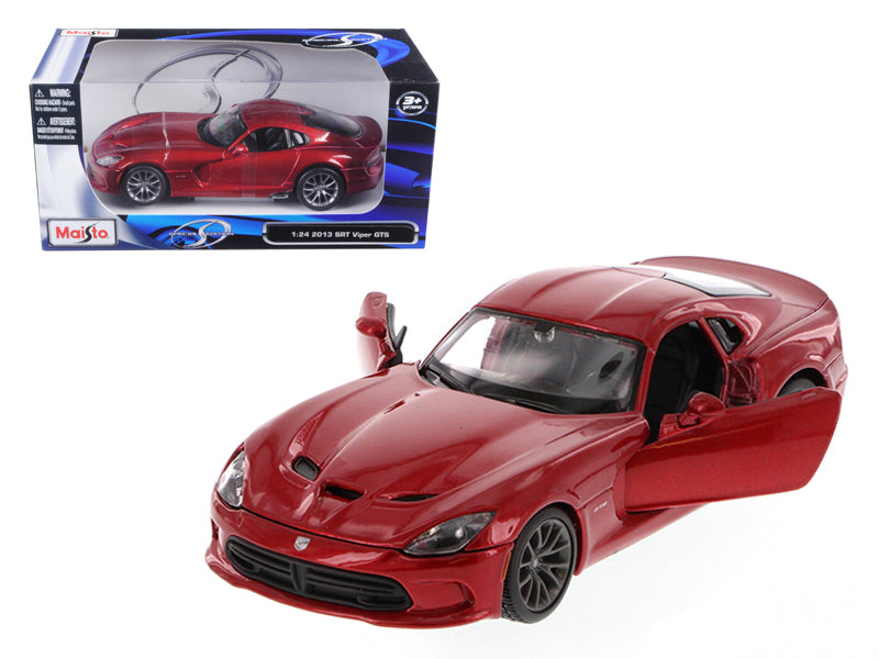 2013 Dodge Viper SRT GTS Metallic Red 1/24 Diecast Model Car by Maisto - BeTovi&co